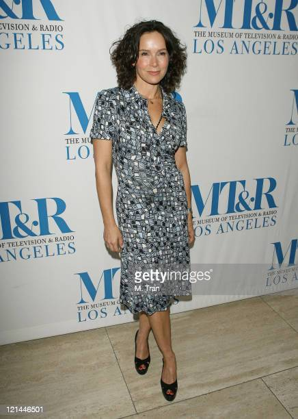 Jennifer Grey during The Museum of Television Radio Presents 'New Adventures of Old Christine' Arrivals at Museum of Television Radio in Beverly...