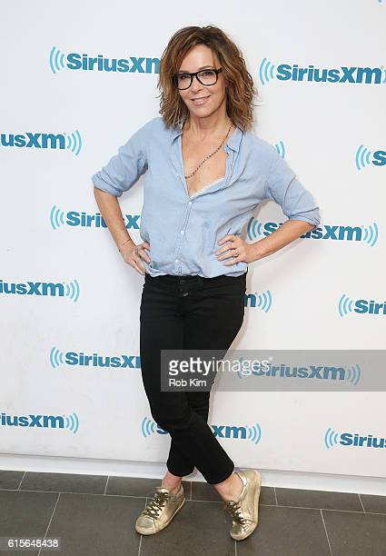 Jennifer Grey visits at SiriusXM Studio on October 19 2016 in New York City