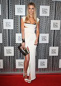 Jennifer Hawkins arrives at the 11th Annual ASTRA Awards at Sydney Theatre on July 25 2013 in Sydney Australia