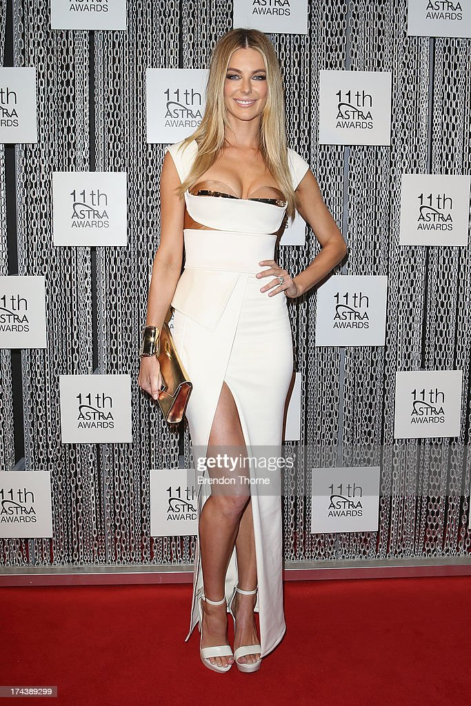 <a gi-track='captionPersonalityLinkClicked' href=/galleries/search?phrase=Jennifer+Hawkins&family=editorial&specificpeople=202875 ng-click='$event.stopPropagation()'>Jennifer Hawkins</a> arrives at the 11th Annual ASTRA Awards at The Sydney Theratre on July 25, 2013 in Sydney, Australia.