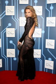 Jennifer Hawkins arrives at the 12th ASTRA Awards at Carriageworks on March 20 2014 in Sydney Australia
