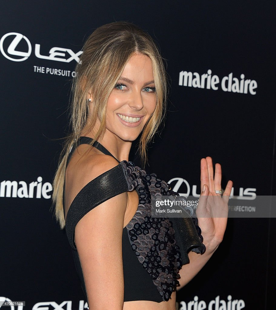 Jennifer Hawkins arrives at the 2015 Prix de Marie Claire Awards at Fox Studios on April 21 2015 in Sydney Australia