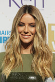 Jennifer Hawkins arrives at the 58th Annual Logie Awards at Crown Palladium on May 8 2016 in Melbourne Australia