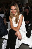 Jennifer Hawkins attends the MercedesBenz Presents Maticevski show at MercedesBenz Fashion Week Resort 17 Collections at The Cutaway Barangaroo...