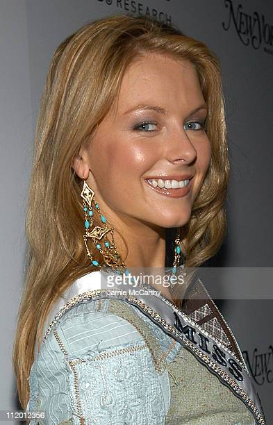 Jennifer Hawkins Miss Universe 2004 during 13th Annual amfAR Boathouse Rocks Benefit at Tavern on the Green at Tavern On The Green in New York City...