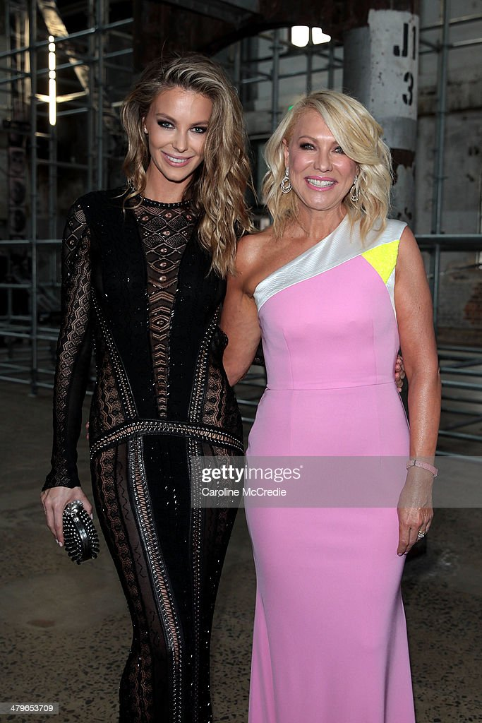 <a gi-track='captionPersonalityLinkClicked' href=/galleries/search?phrase=Jennifer+Hawkins&family=editorial&specificpeople=202875 ng-click='$event.stopPropagation()'>Jennifer Hawkins</a>a and <a gi-track='captionPersonalityLinkClicked' href=/galleries/search?phrase=Kerri-Anne+Kennerley&family=editorial&specificpeople=239056 ng-click='$event.stopPropagation()'>Kerri-Anne Kennerley</a> pose before the 12th ASTRA Awards at Carriageworks on March 20, 2014 in Sydney, Australia.
