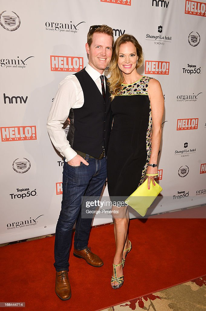 Jennifer Hedger arrives at Hello! Canada gala celebrating Canada's 50 most beautifulÊ at Shangri-La Hotel on May 9, 2013 in Toronto, Canada.
