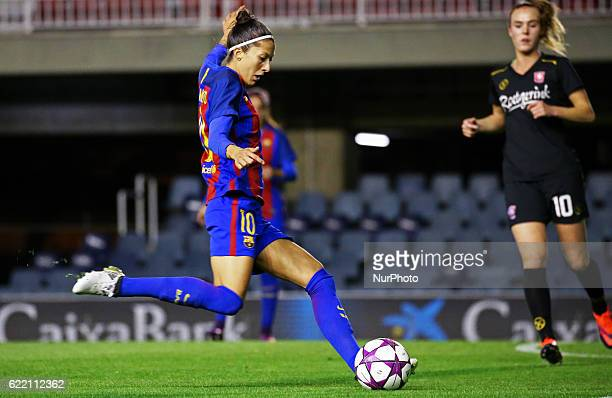Jennifer Hermoso during the Womens Champions League match between FC Barcelona and FC Twente on 09 november 2016