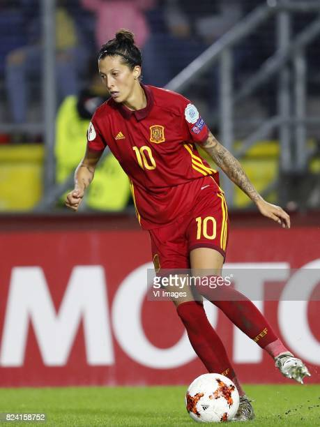 Jennifer Hermoso of Spain women during the UEFA WEURO 2017 Group D group stage match between England and Spain at the Rat Verlegh stadium on July 23...