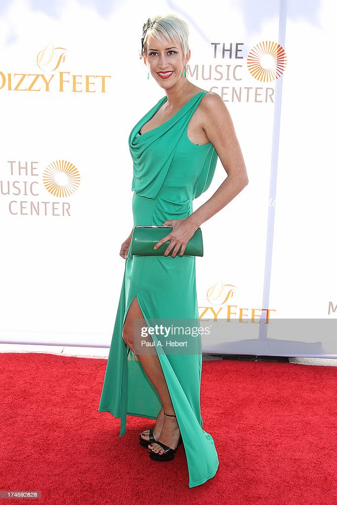 Jennifer Hill attends the 3rd Annual Dizzy Feet Foundation's Celebration Of Dance Gala at Dorothy Chandler Pavilion on July 27, 2013 in Los Angeles, California.
