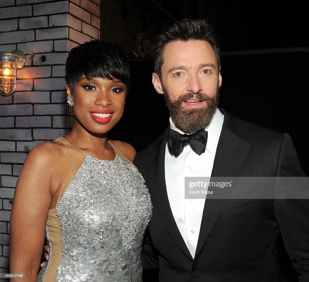<a gi-track='captionPersonalityLinkClicked' href=/galleries/search?phrase=Jennifer+Hudson&family=editorial&specificpeople=234833 ng-click='$event.stopPropagation()'>Jennifer Hudson</a> and <a gi-track='captionPersonalityLinkClicked' href=/galleries/search?phrase=Hugh+Jackman&family=editorial&specificpeople=202499 ng-click='$event.stopPropagation()'>Hugh Jackman</a> attend the 68th Annual Tony Awards at Radio City Music Hall on June 8, 2014 in New York City.