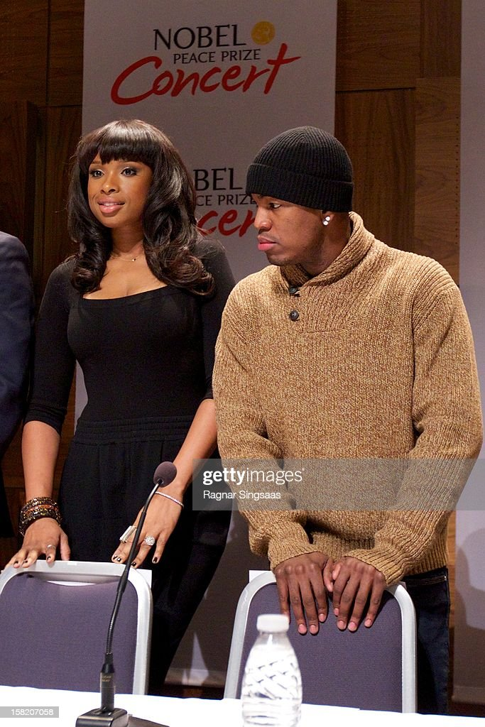 <a gi-track='captionPersonalityLinkClicked' href=/galleries/search?phrase=Jennifer+Hudson&family=editorial&specificpeople=234833 ng-click='$event.stopPropagation()'>Jennifer Hudson</a> and <a gi-track='captionPersonalityLinkClicked' href=/galleries/search?phrase=Ne-Yo&family=editorial&specificpeople=451543 ng-click='$event.stopPropagation()'>Ne-Yo</a> attend a press conference ahead of the Nobel Peace Prize Concert at Radisson Blu Plaza Hotel on December 11, 2012 in Oslo, Norway.