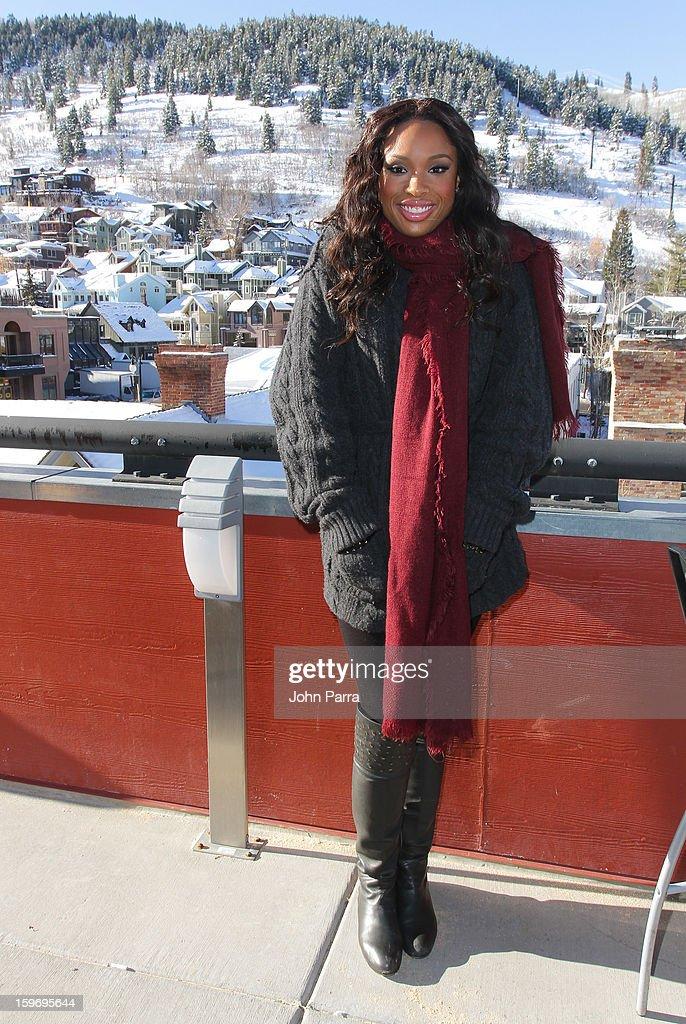 Jennifer Hudson appears at the Nikki Beach pop-up lounge & restaurant at Sundance on January 18, 2013 in Park City, Utah.