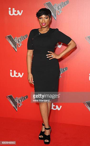 Jennifer Hudson arrives for the press launch of The Voice UK at Millbank Tower on January 4 2017 in London England