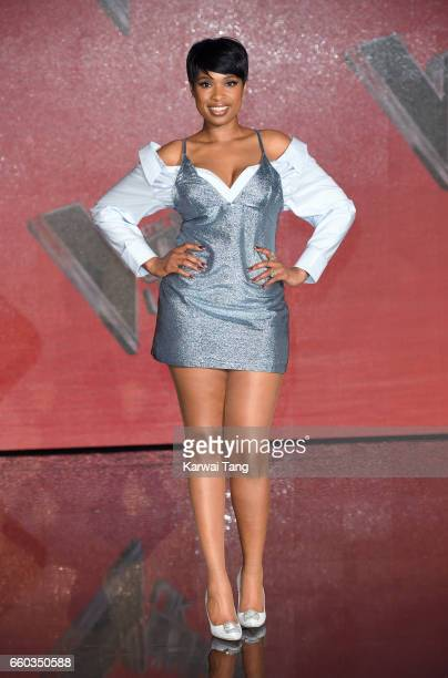 Jennifer Hudson attends a photocall for the final of The Voice UK at LH2 on March 29 2017 in London United Kingdom