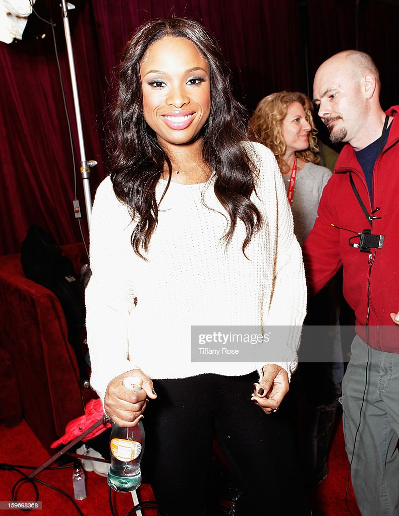 Jennifer Hudson attends Day 1 of Tea of A Kind at Village At The Lift 2013 on January 18, 2013 in Park City, Utah.