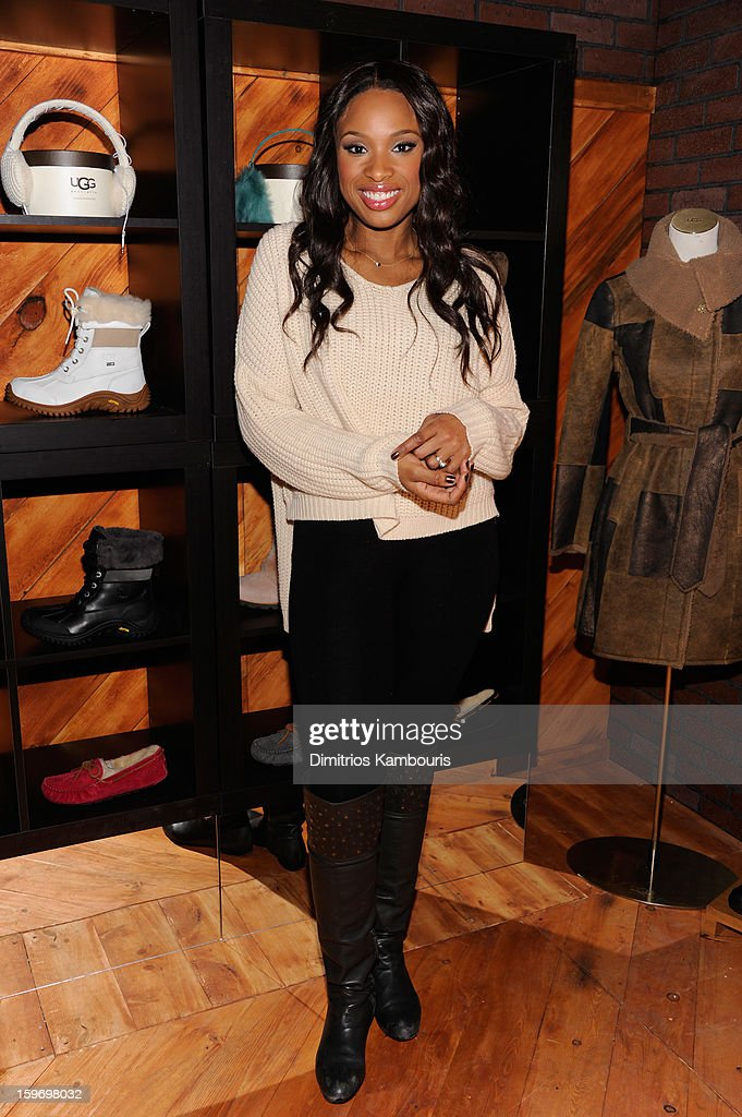 Jennifer Hudson attends Day 1 of Village at The Lift 2013 on January 18, 2013 in Park City, Utah.