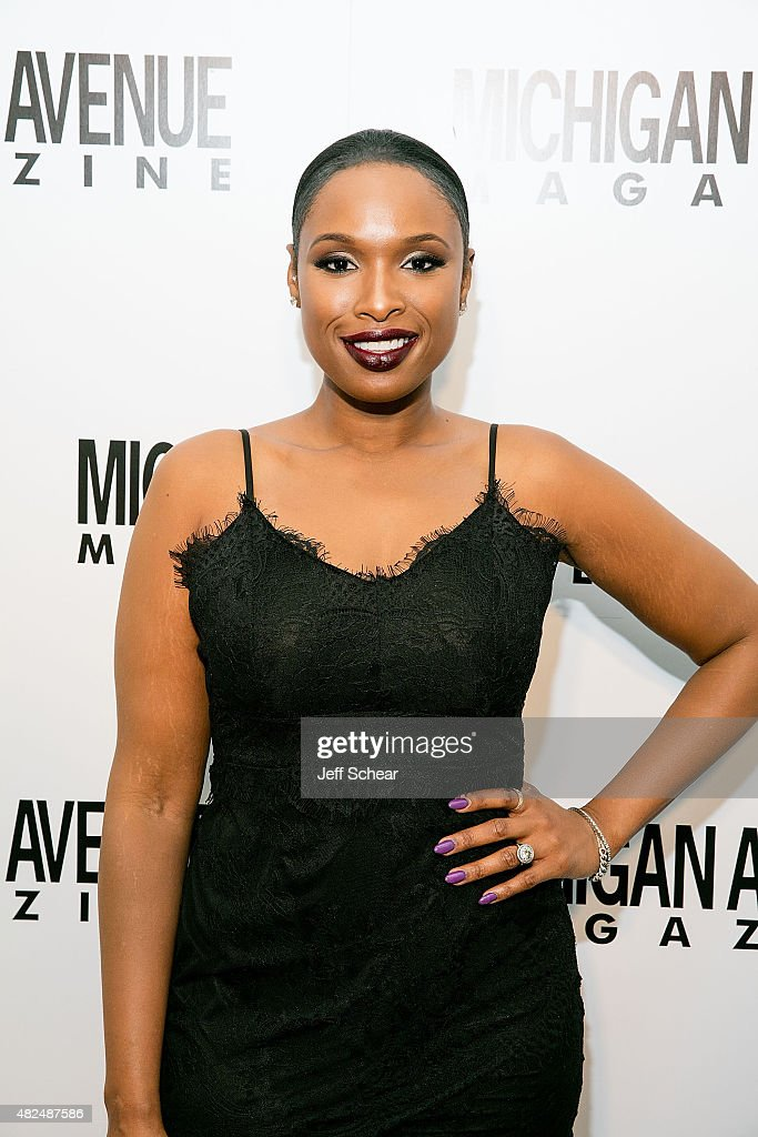 Jennifer Hudson attends Michigan Avenue Magazine and Art Van Furniture Host A Sweet Evening with Jennifer Hudson presented by Qatar Airways at...