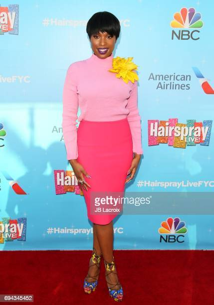 Jennifer Hudson attends NBC's 'Hairspray Live' FYC event on June 09 2017 in North Hollywood California