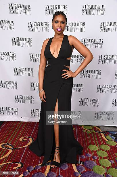 Jennifer Hudson attends Songwriters Hall Of Fame 47th Annual Induction And Awards at Marriott Marquis Hotel on June 9 2016 in New York City