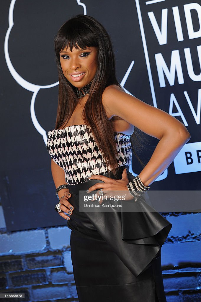 Christian Dior skirt and top) attends the 2013 MTV Video Music Awards at the Barclays Center on August 25, 2013 in the Brooklyn borough of New York City.