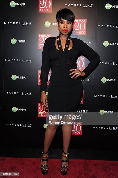 Jennifer Hudson attends the Instyle Hosts 20th Anniversary Party at Diamond Horseshoe at the Paramount Hotel on September 8 2014 in New York City