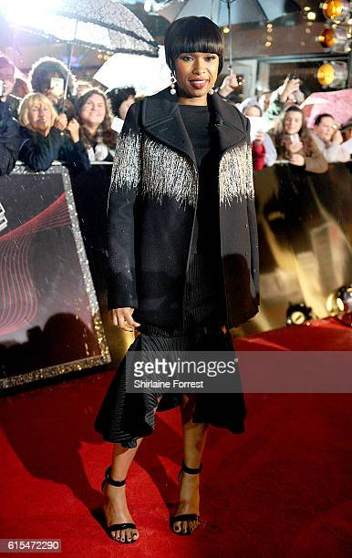 Jennifer Hudson attends the red carpet launch for The Voice UK at Media City on October 18 2016 in Manchester England