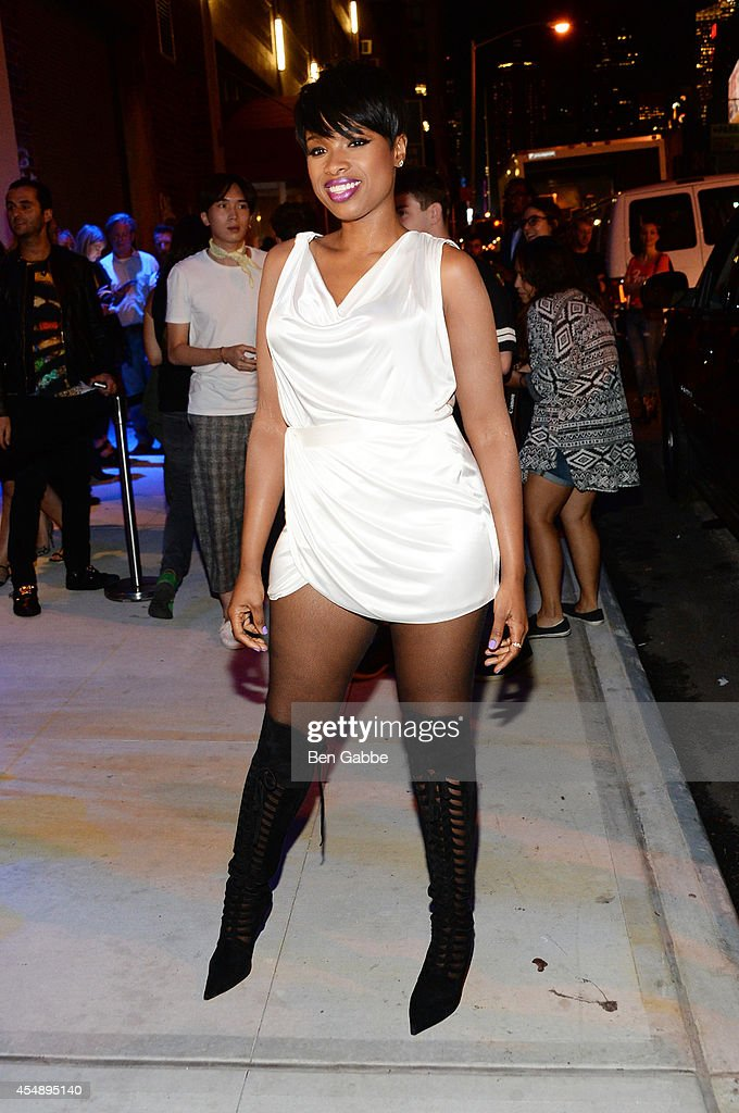 Jennifer Hudson attends the Versus Versace fashion show during MercedesBenz Fashion Week Spring 2015 at Metropolitan West on September 7 2014 in New...