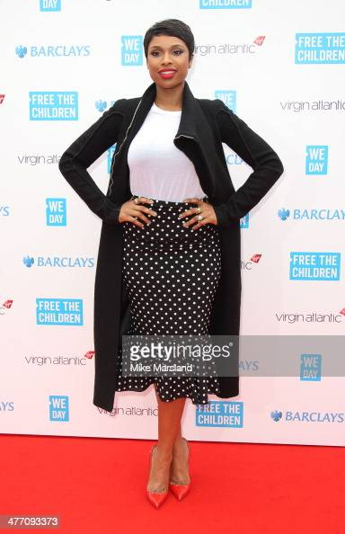 Jennifer Hudson attends the We Day UK a charity event to bring young people together at Wembley Arena on March 7 2014 in London England