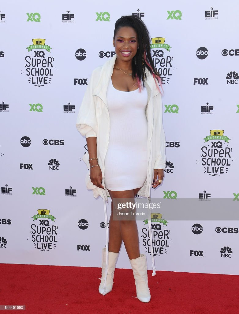 Jennifer Hudson attends XQ Super School Live at The Barker Hanger on September 8, 2017 in Santa Monica, California.