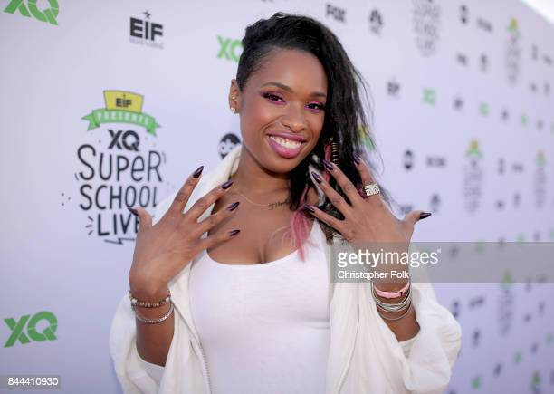 Jennifer Hudson attends XQ Super School Live presented by EIF at Barker Hangar on September 8 2017 in Santa California