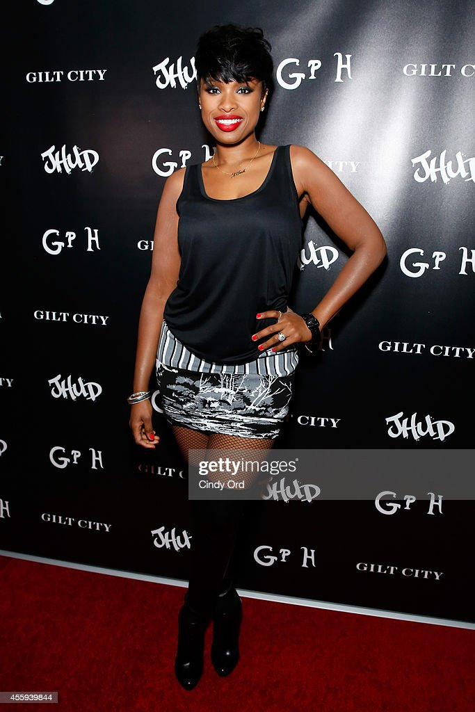 "Jennifer Hudson celebrates her official ""JHUD"" album launch party hosted by Gilt City at Gramercy Park Hotel in New York City on September 22 2014"