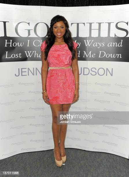 Jennifer Hudson celebrates the release of her memoir 'I Got This' with a book signing at a local Los Angeles Weight Watchers Center on January 13...