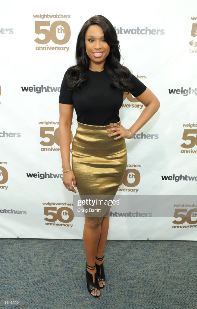 <a gi-track='captionPersonalityLinkClicked' href=/galleries/search?phrase=Jennifer+Hudson&family=editorial&specificpeople=234833 ng-click='$event.stopPropagation()'>Jennifer Hudson</a> celebrates Weight Watchers 50th anniversary with a Center dedication to company founder, Jean Nidetch at Weight Watchers Center NYC on March 25, 2013 in New York City.