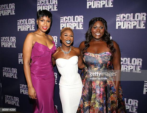 Jennifer Hudson Cynthia Erivo and Danielle Brooks attend the Broadway Opening Night Performance After Party for 'The Color Purple' at Copacabana on...