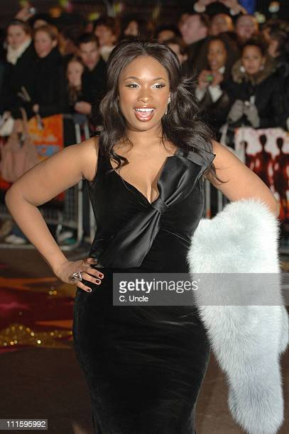 Jennifer Hudson during 'Dreamgirls' London Film Premiere Red Carpet at Odeon Leicester Square in London Great Britain