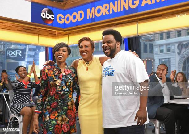 AMERICA Jennifer Hudson is a guest on 'Good Morning America' Monday April 17 2017 airing on the ABC Television Network JENNIFER