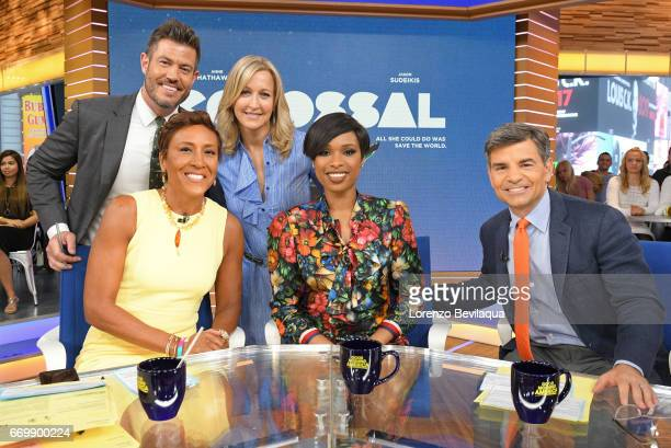 AMERICA Jennifer Hudson is a guest on 'Good Morning America' Monday April 17 2017 airing on the ABC Television Network JESSE