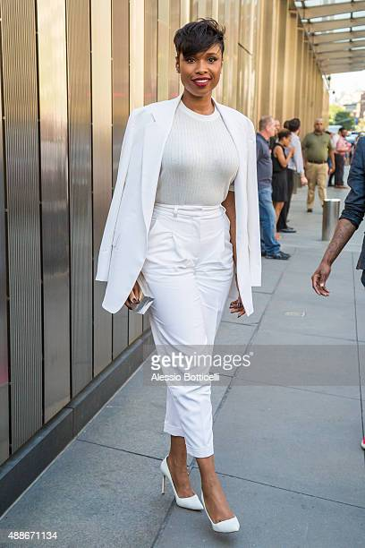 Jennifer Hudson is seen in Downtown on September 16 2015 in New York City