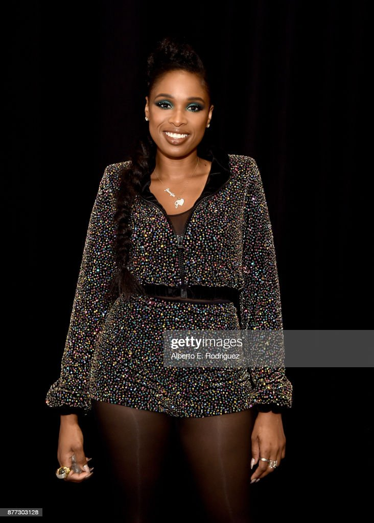 Jennifer Hudson poses for a photo during NBC's 'The Voice' Season 13 on November 20, 2017 in Universal City, California.