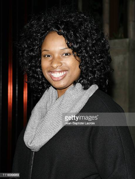 Jennifer Hudson sighting on December 12 2007 in West Hollywood California