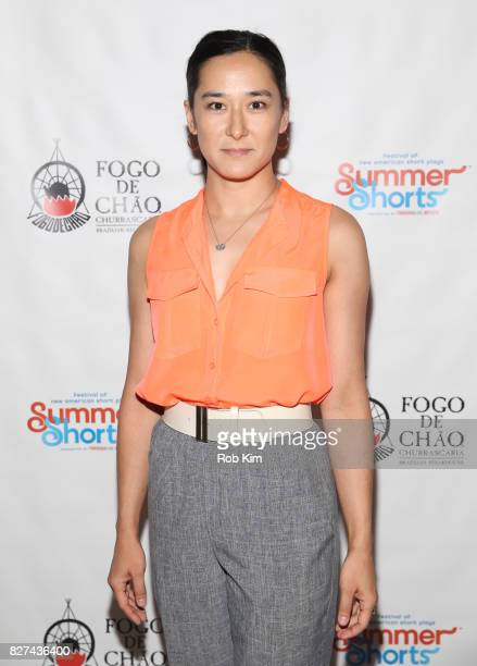 Jennifer Ikeda attends the OffBroadway opening night party for 'SUMMER SHORTS 2017' at Fogo de Chao Churrascaria on August 7 2017 in New York City
