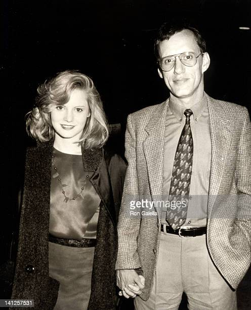 Jennifer Jason Leigh and James Woods at the Premiere of 'Scarface' Plitt Theater Century City