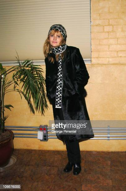 Jennifer Jason Leigh during 2005 Sundance Film Festival 'The Jacket' Premiere After Party at Yoga Studio in Park City Utah United States
