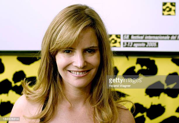 Jennifer Jason Leigh during Filmfestival Locarno 2005 'Rag Tale' Press Conference at Press Centre in Locarno Switzerland