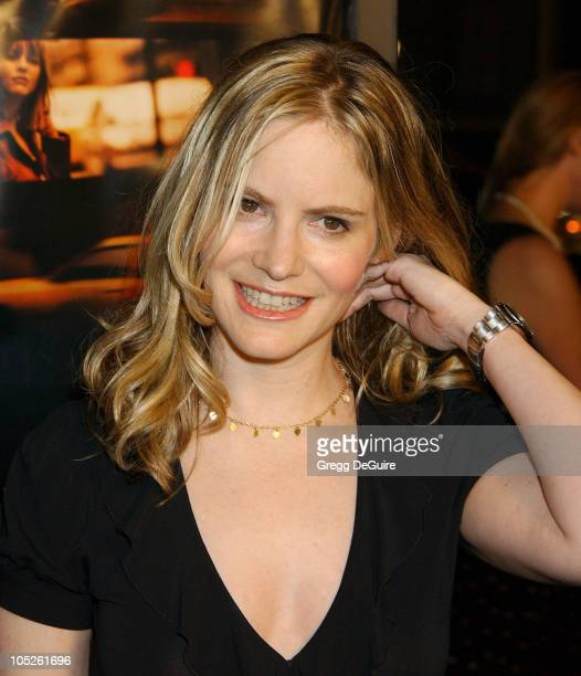Jennifer Jason Leigh during 'In The Cut' Los Angeles Premiere Arrivals at Academy Theatre in Beverly Hills California United States