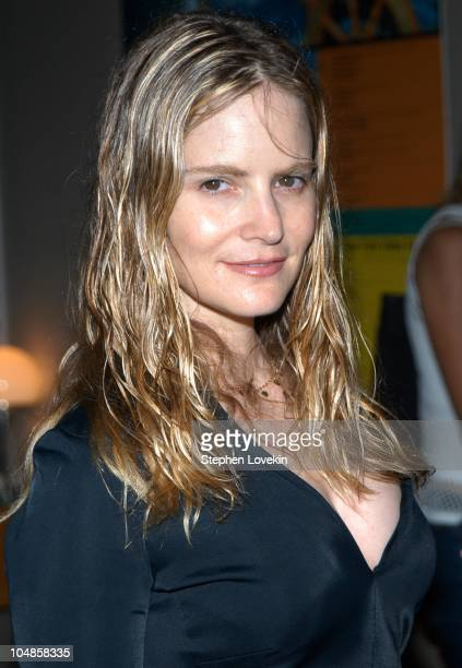 Jennifer Jason Leigh during Screening of Alan Rudolph's 'The Secret Lives of Dentists' at The Walter Reade Theatre in New York City New York United...