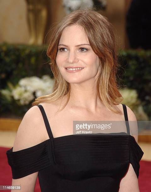 Jennifer Jason Leigh during The 78th Annual Academy Awards Red Carpet at Kodak Theatre in Hollywood California United States
