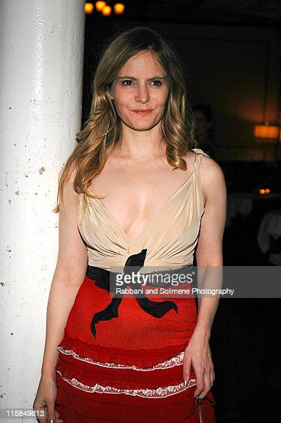 Jennifer Jason Leigh during The New Group Presents 'Abigail's Party' at Sacha in New York City New York United States
