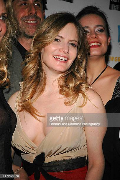 Jennifer Jason Leigh during The New Group Presents Abigail's Party at Sacha in New York City New York United States